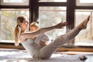 Tonificar el abdomen después del embarazo