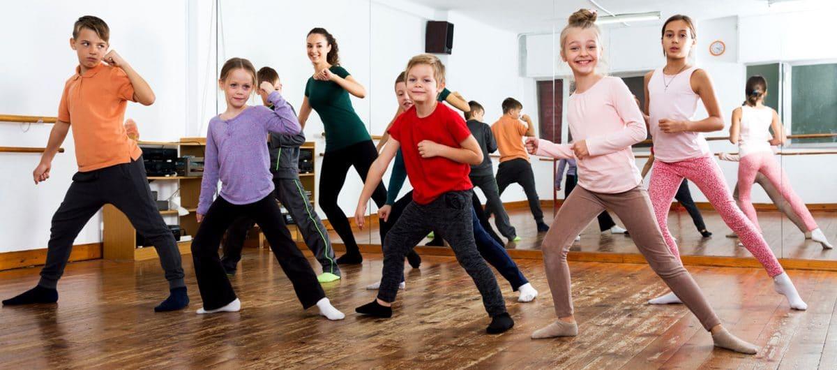 Danza terapia para niños