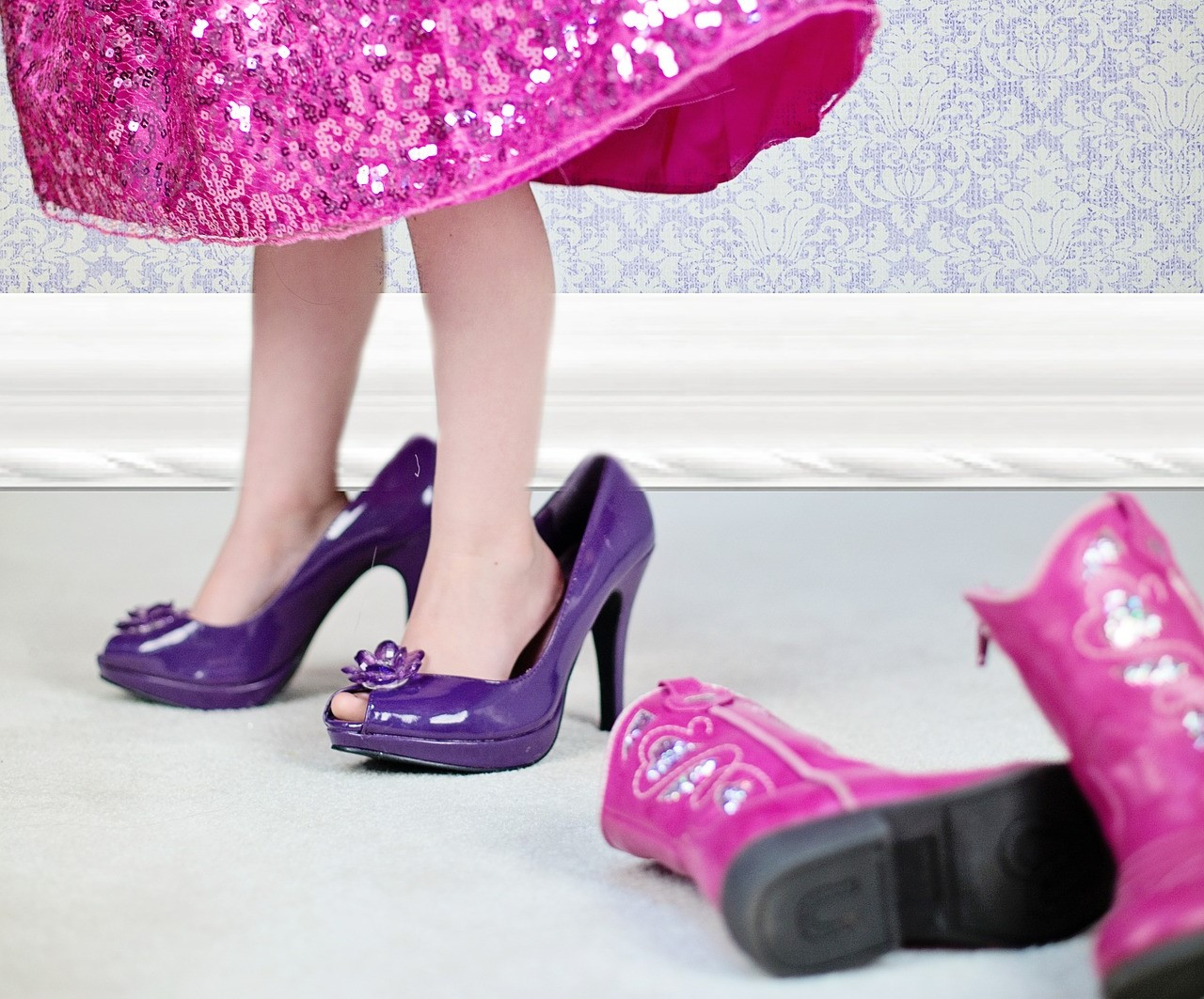Deben Ponerse Las Niñas Y Adolescentes Zapatos De Tacón Madres Hoy