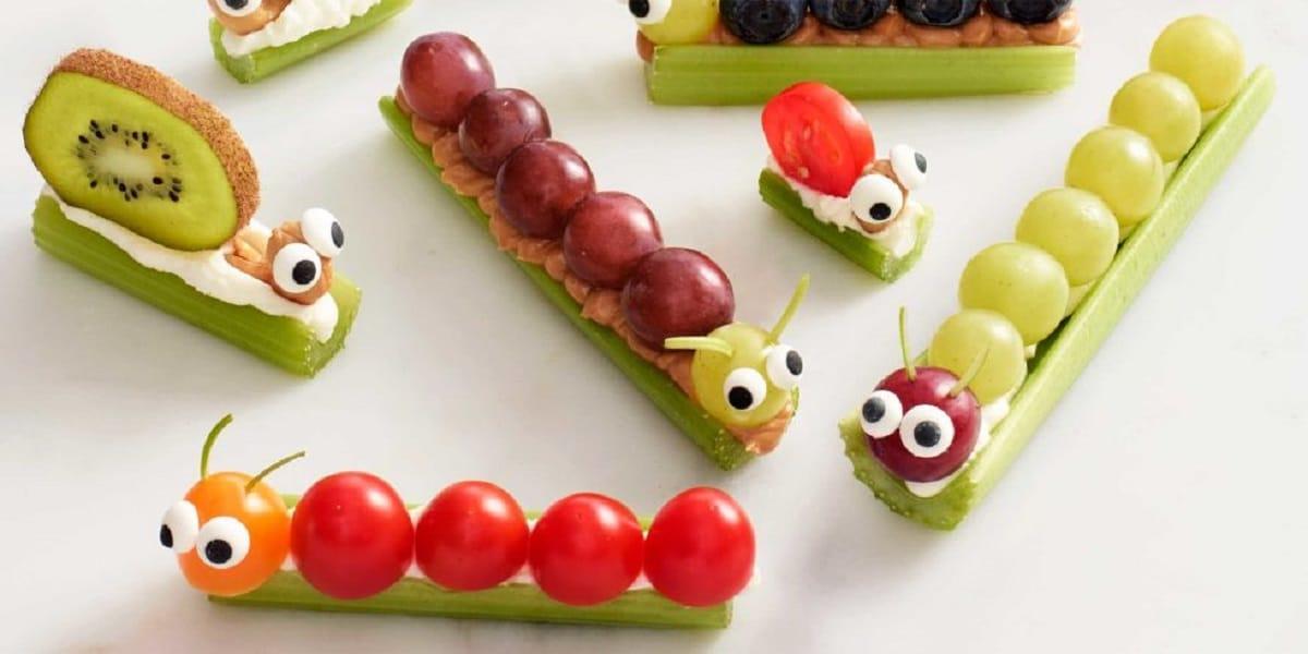 platos divertidos y saludables
