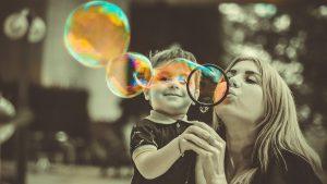 felicidad familia