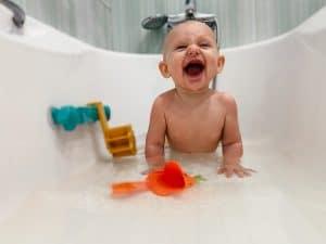 Juegos en el baño