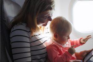 avion bebe