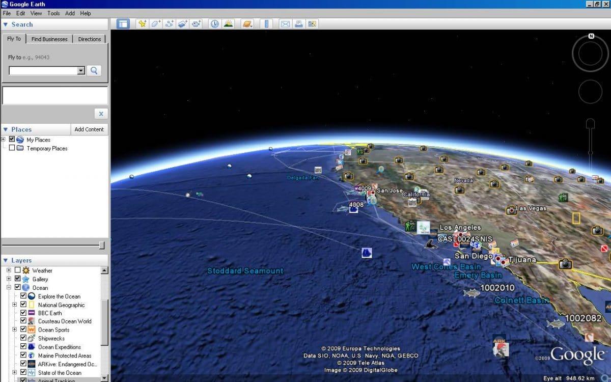 Sitios web sobre océanos