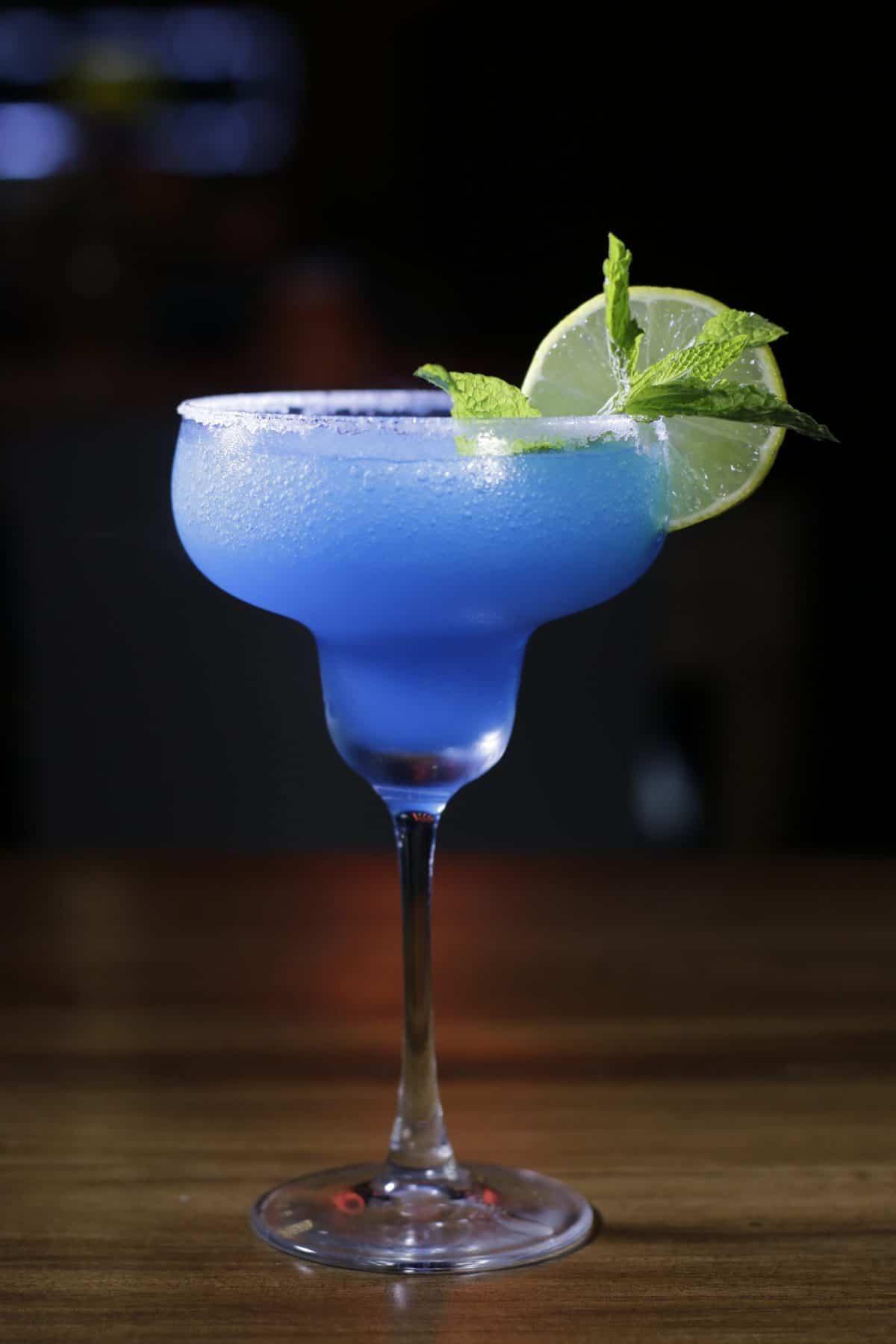 Cóctel azul
