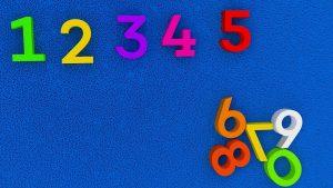 enseñar los números en inglés a los hijos