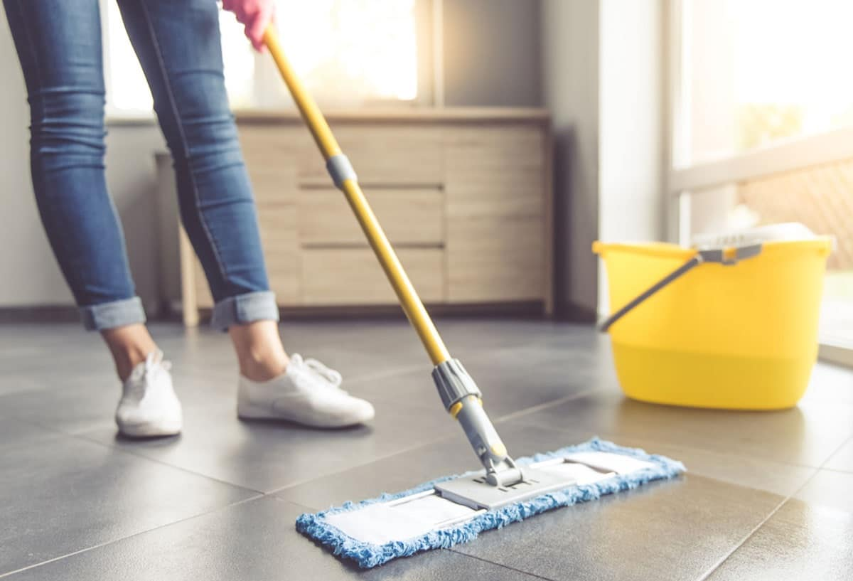 Limpieza general de la casa