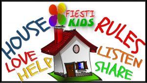 Normas de casa para niños