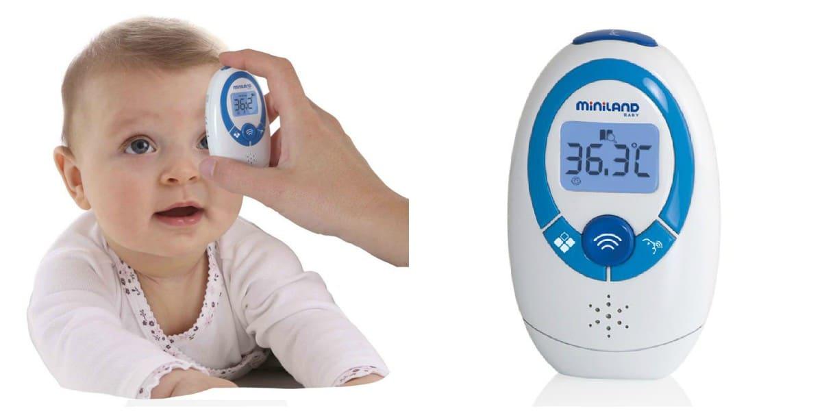 termómetro de frente