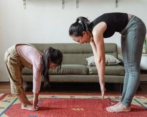 aeróbic para hacer con niños