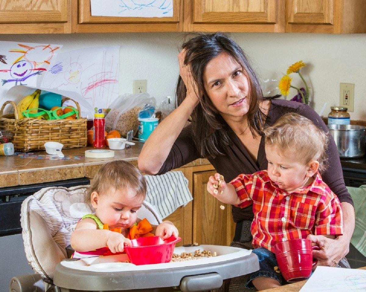 Síndrome de Burnout o madre quemada