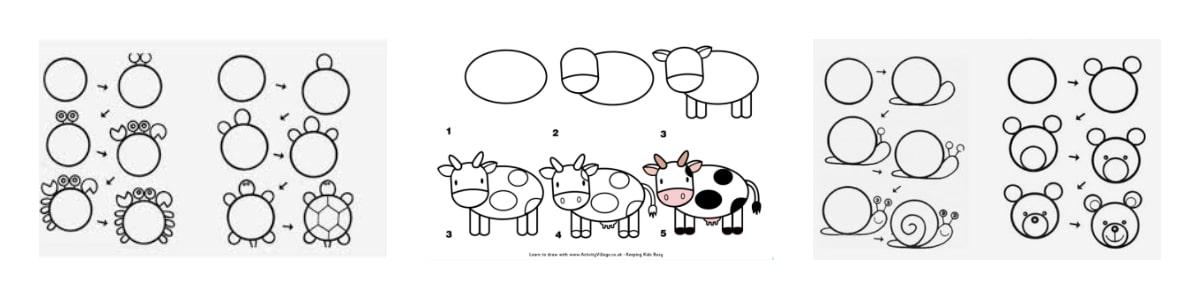 dibujar fácil con tus hijos