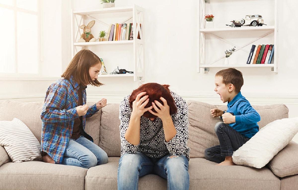 Ser neutral en los conflictos de los hijos