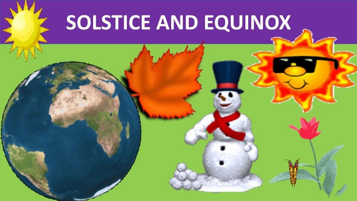 Explicar el solsticio de invierno a los niños