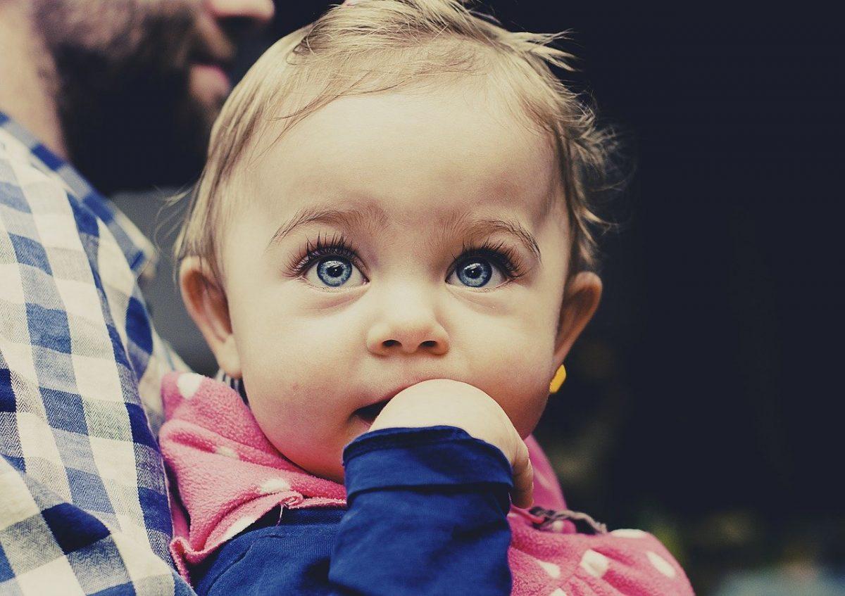 Color ojos del bebé