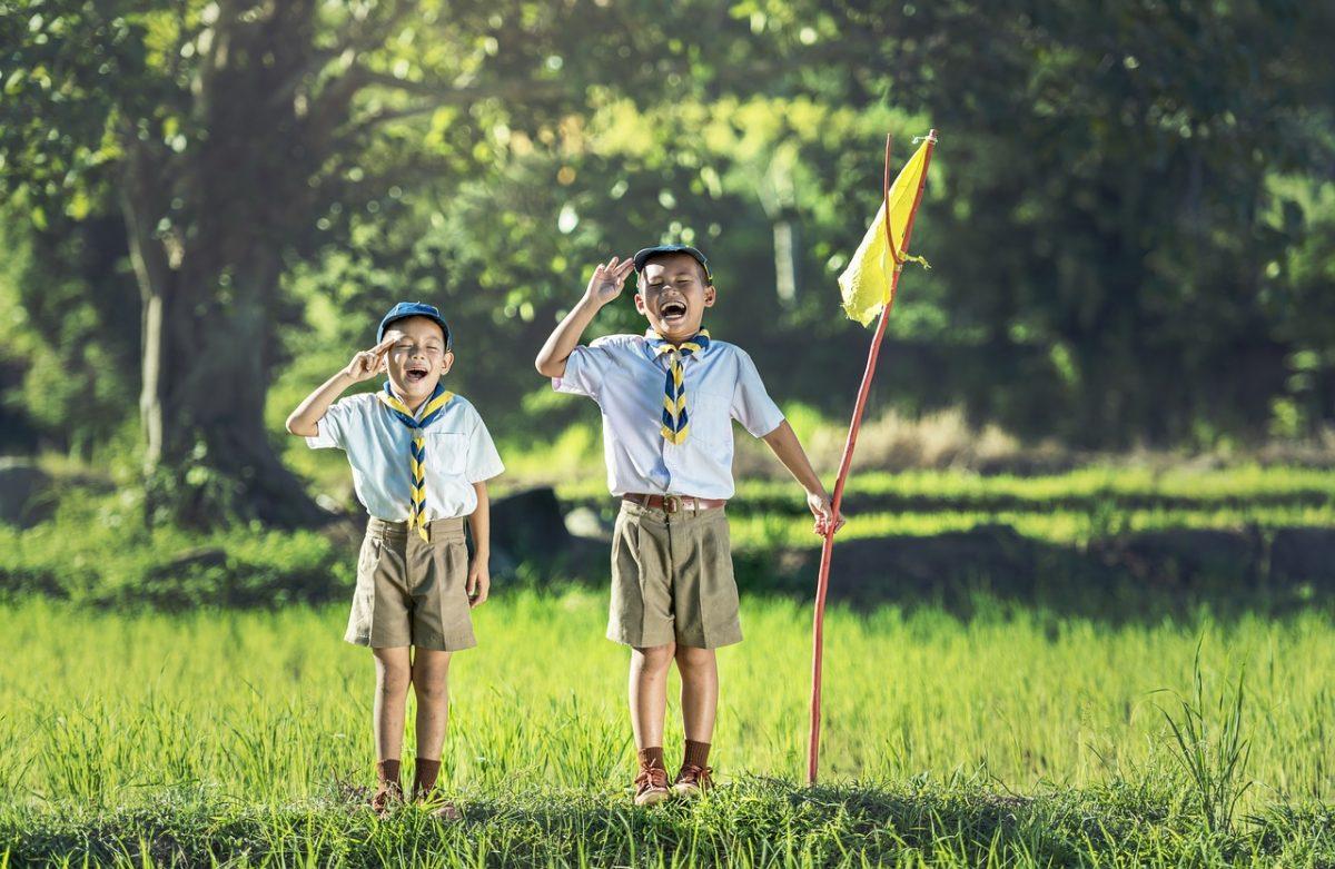 Scout en los niños