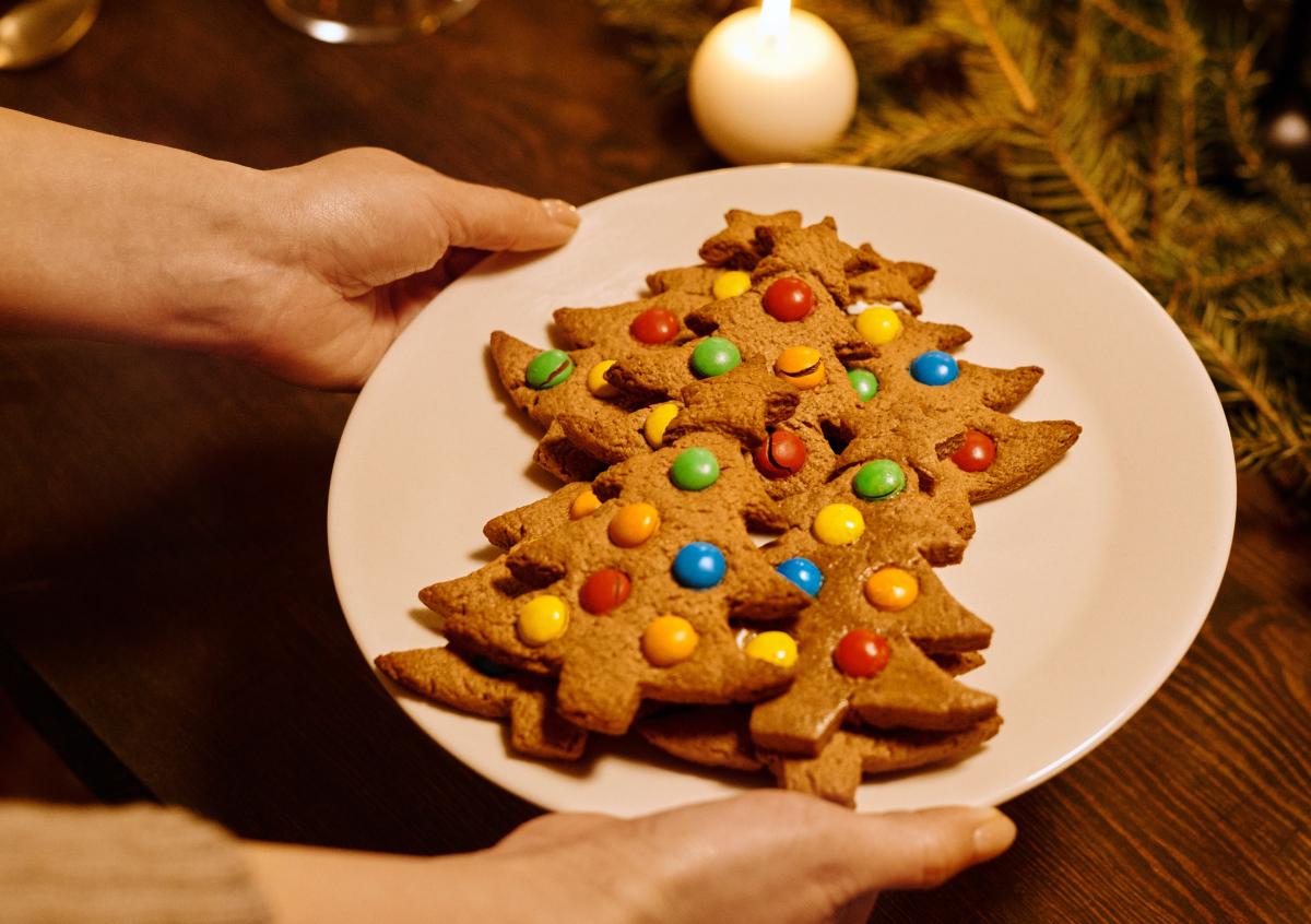 galletas caseras en familia