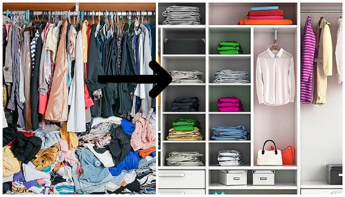 Hacer el cambio de armario