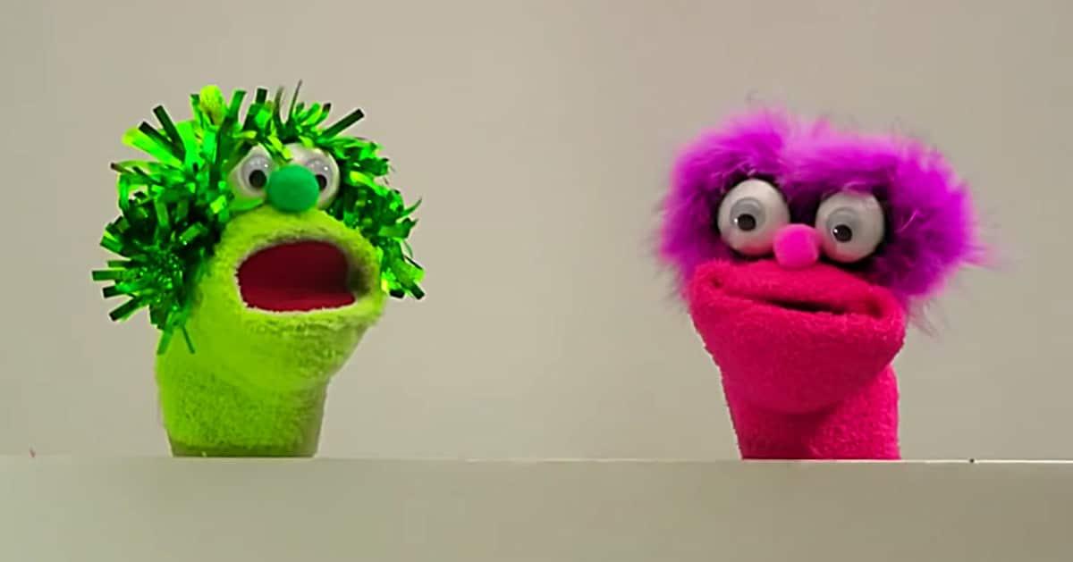Marionetas de calcetines