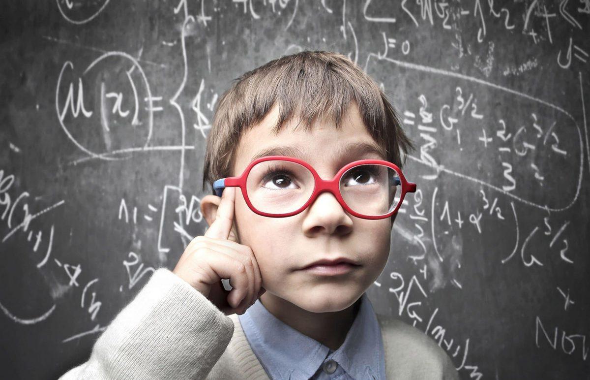 Niños con talento en matemáticas