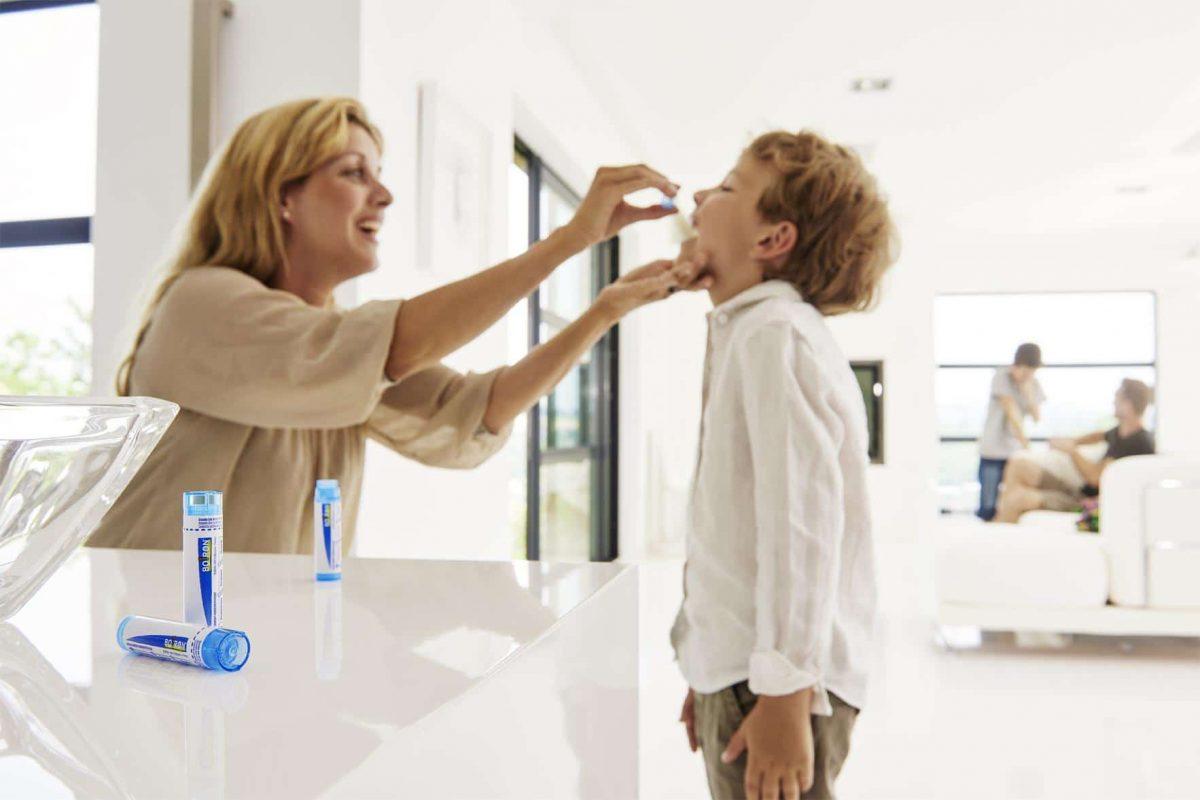 homeopatía niños