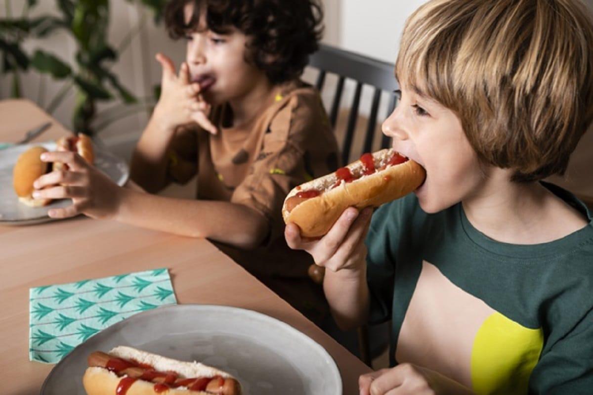La comida en la infancia