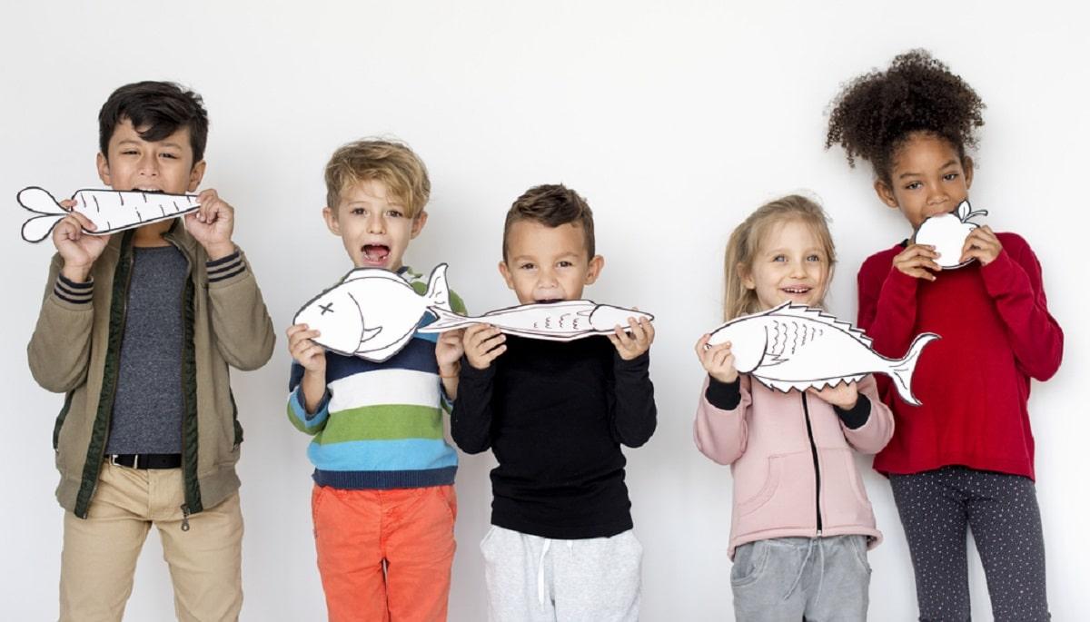 Los mejores pescados para niños