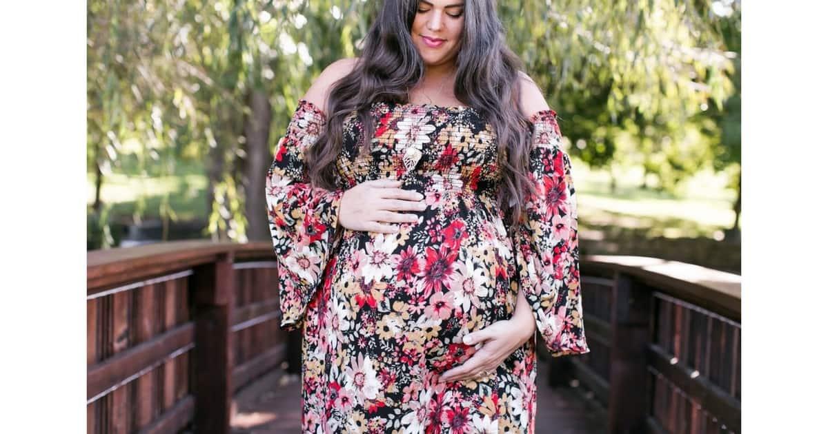 moda primavera embarazadas
