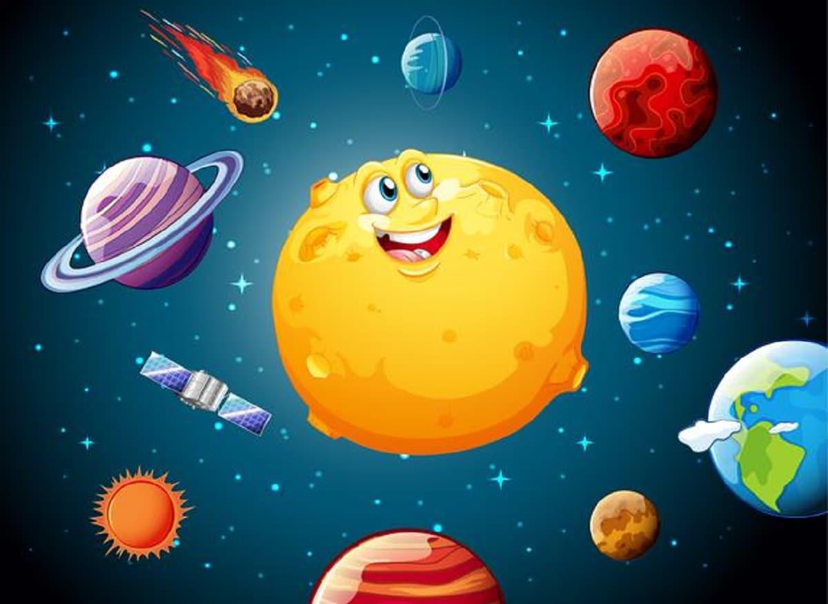 Manualidades de astronomía