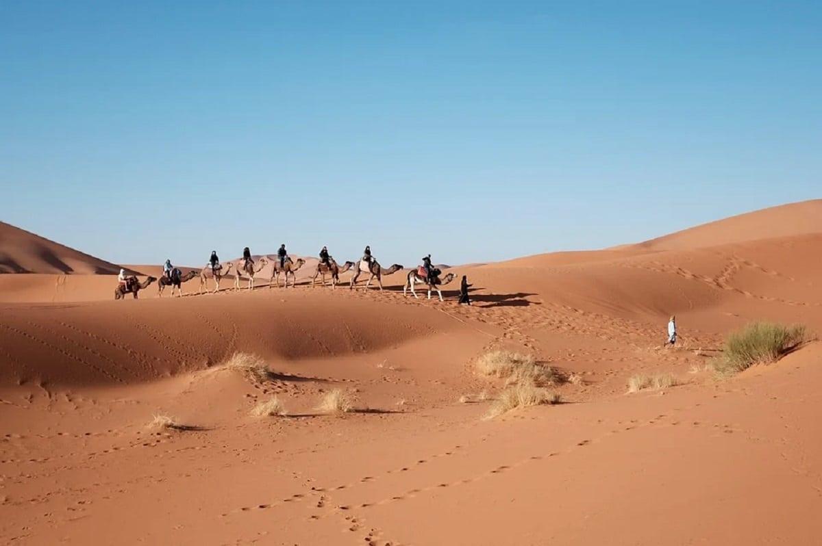 Desierto en África
