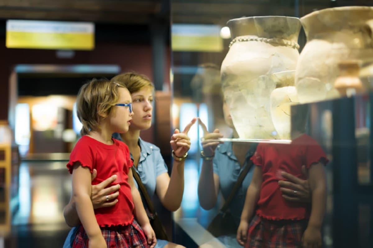 Visitar museos con los hijos