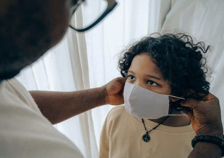 Mascarilla FFP2 para proteger a tus hijos