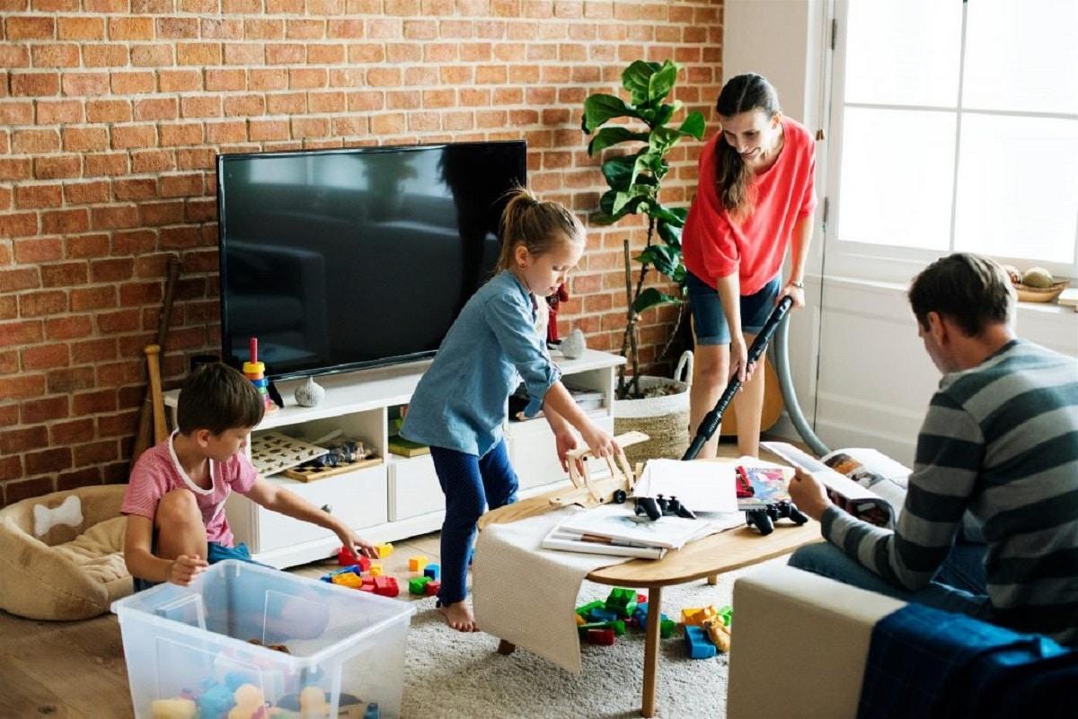 Repartir las tareas del hogar