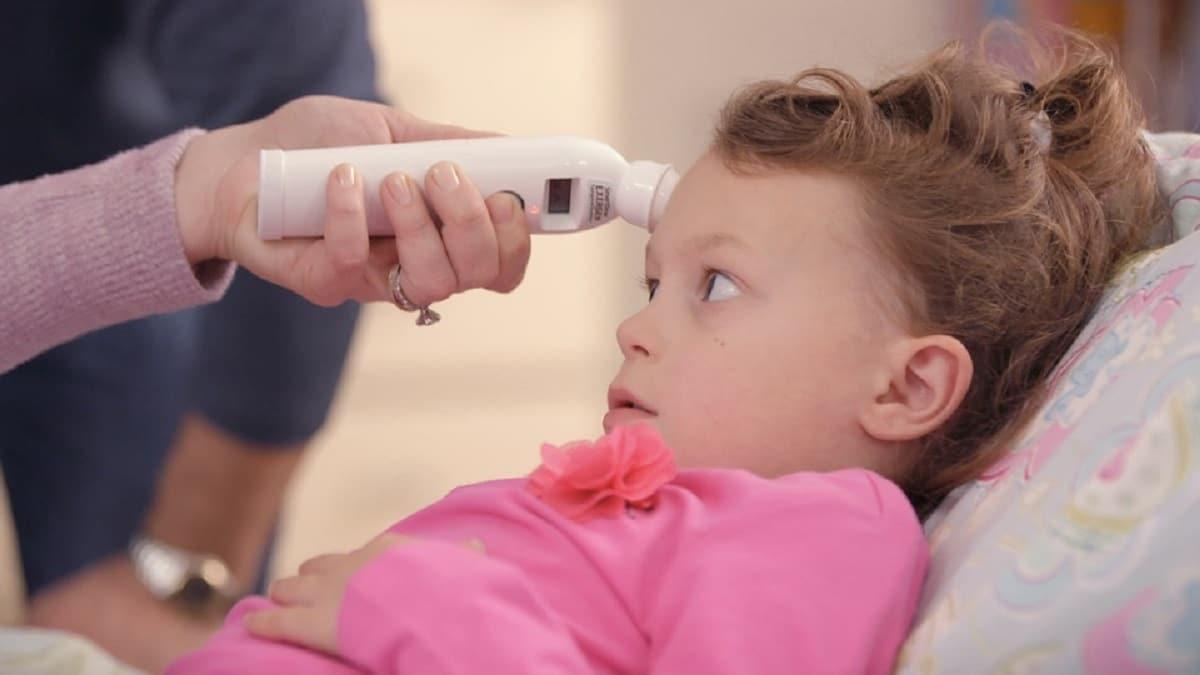 Las fases de la fiebre en niños