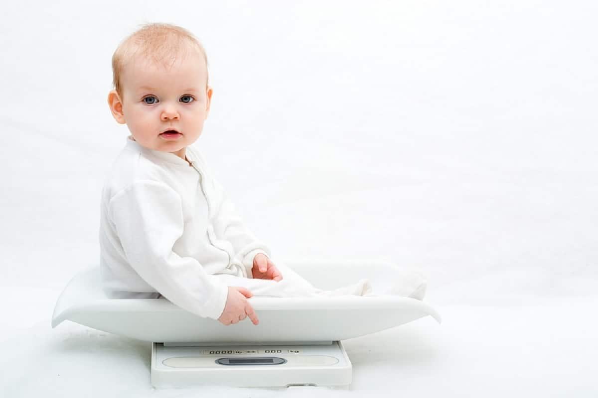 talla y peso bebé