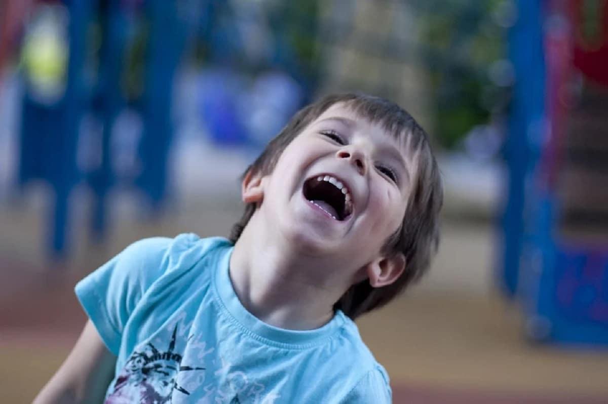 Risoterapia para niños