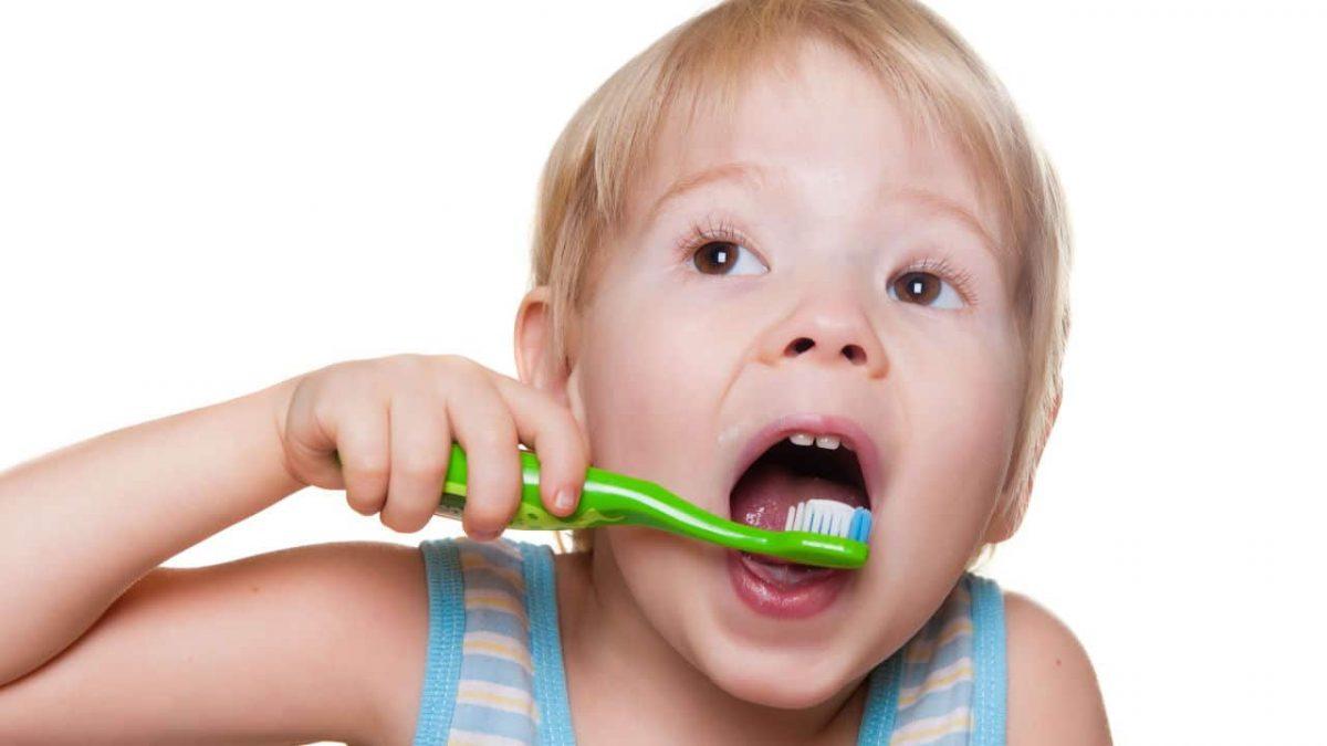 Flúor dientes niños