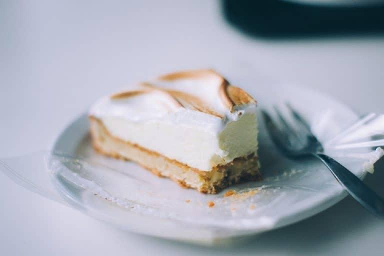 Tarta de verano, pastel de horchata