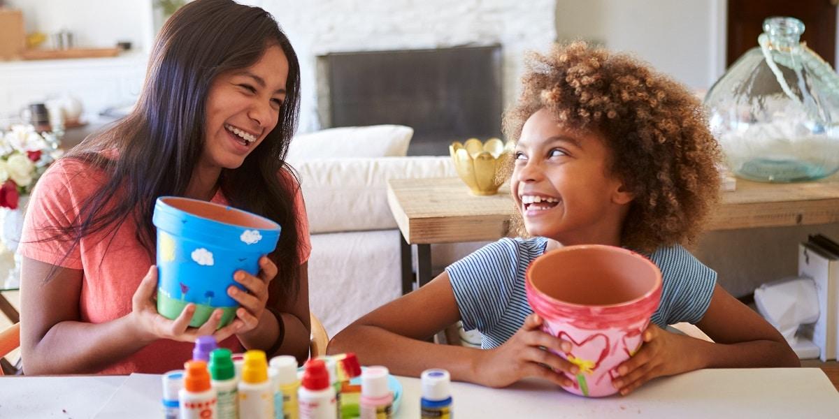 Entretener a los niños en casa