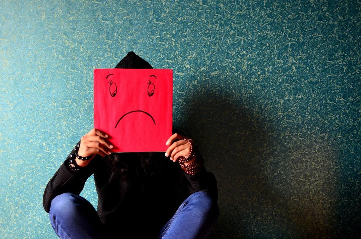 Careta de depresión