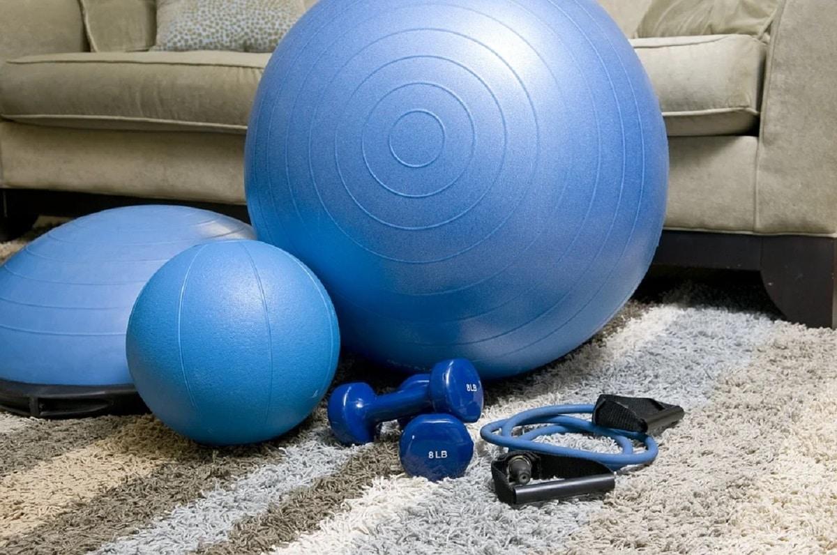 Material para entrenar en casa