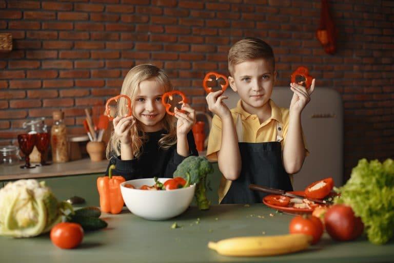 Cómo conseguir que los niños coman verdura