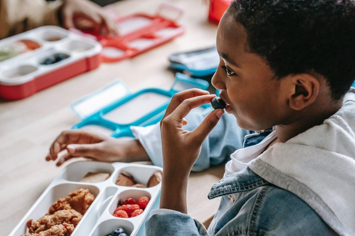Cena equilibrada para niños