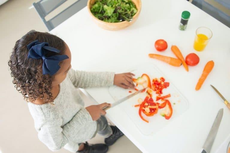 Menú equilibrado para niños