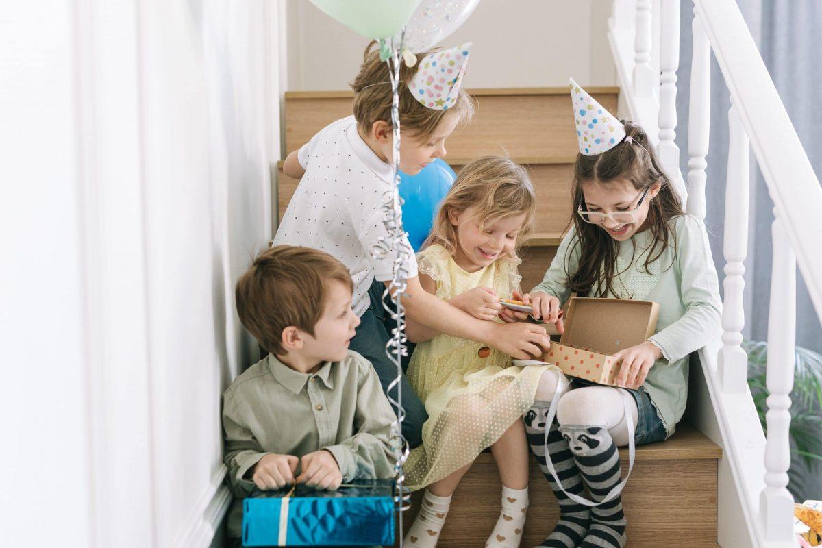 Celebrar un cumpleaños con niños