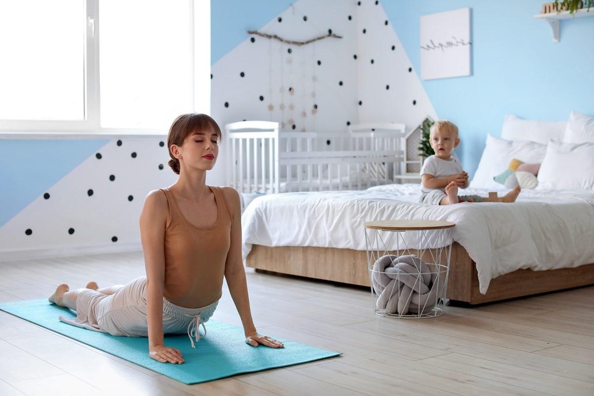 Ejercicio en casa con tu bebé