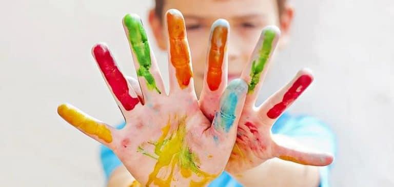 Enseñar colores a mi hijo de 2 años