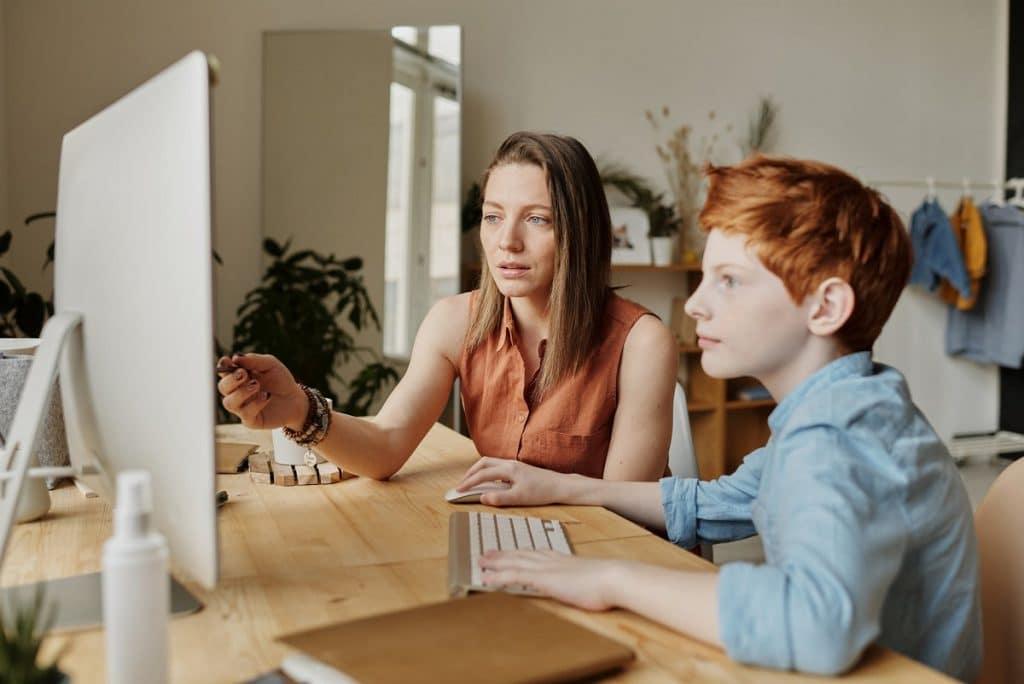Educar a los hijos en solitario