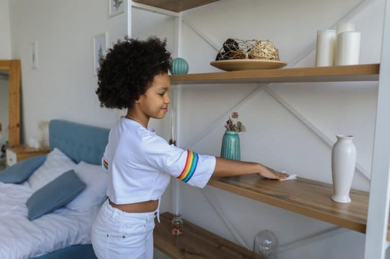 Implicar a los niños en las tareas domésticas