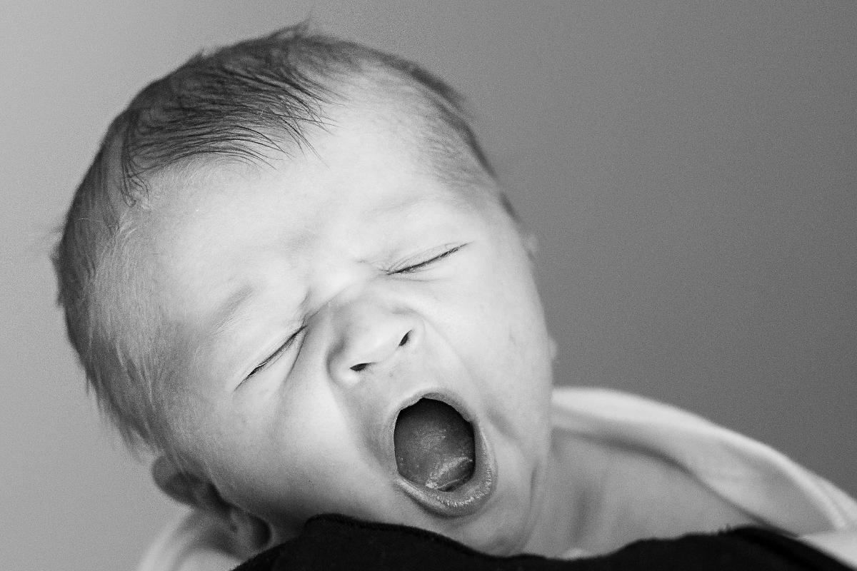 Mi hija bosteza mucho